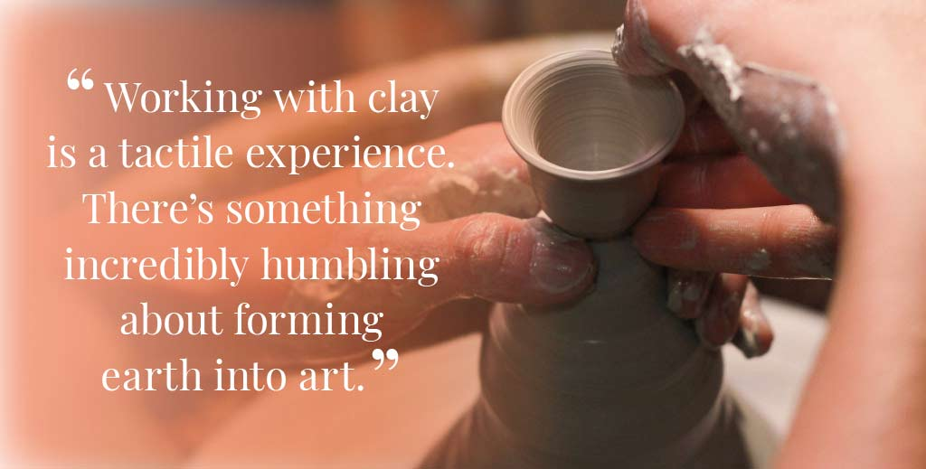 Unique handmade ceramics and pottery Good Karma Clay Introduction With Quote Desktop